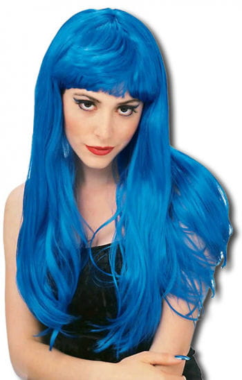Glamour Wig Blue