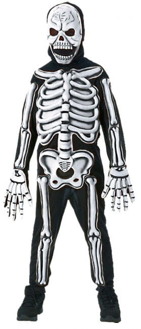 Skeleton costume 3D L