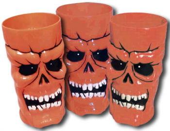 Cups Skull Neonorange