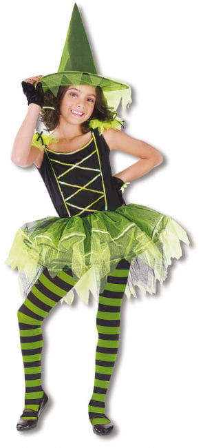 Ballerina Witch Child Costume L