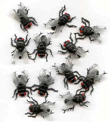 Big Fleshflies (12 pieces)