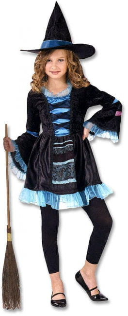 Victorian Witch Child Costume Size S