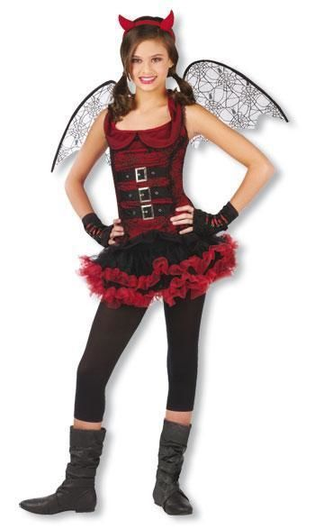 Bat Devil Child Costume L