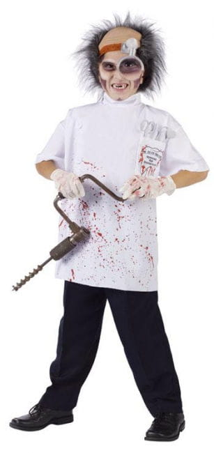 Dr. Killer Driller Kinderkostüm L