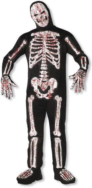 Bloody 3D Skeleton Costume