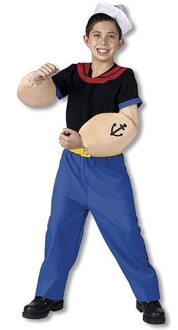 Original Popeye Child Costume S