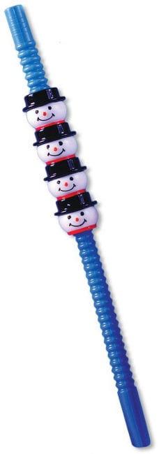 Snowman Straws 5 pcs