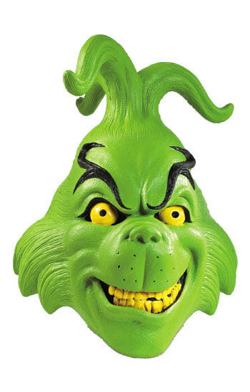 Grinch Latex Mask