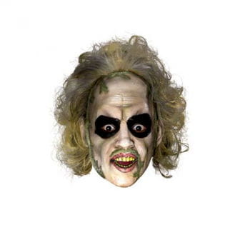 Beetlejuice Mask with Hair