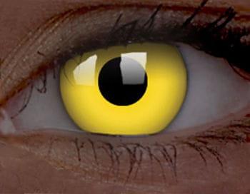 Kontaktlinsen gelb UV Aktiv