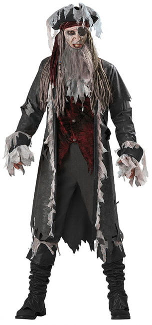 Ghost Pirate Costume Premium Large