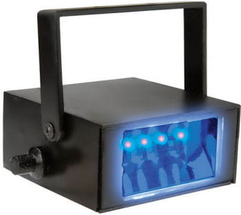 LED stroboscope blue