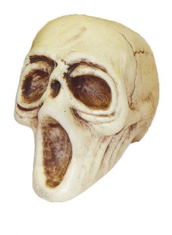 Schreiender Totenschädel 10 cm