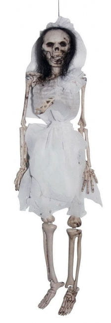 Skeleton Bride Hanging Decoration