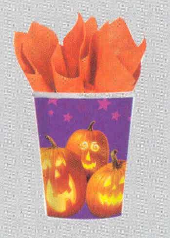paper cups Pumpkin