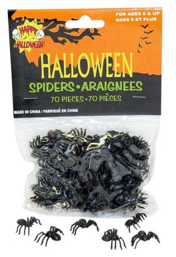 Small Spiders 70PCS