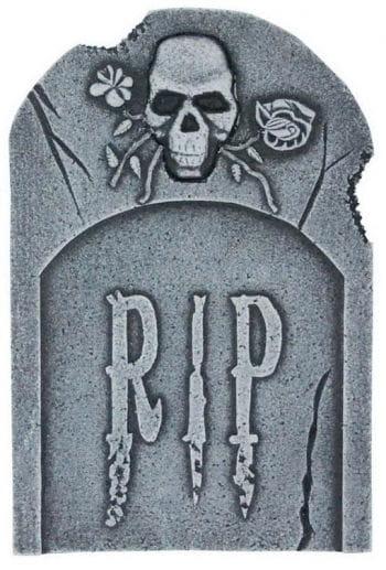 Grave stone Skull & Roses 40 cm