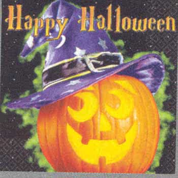 Party Napkins Happy Haunting