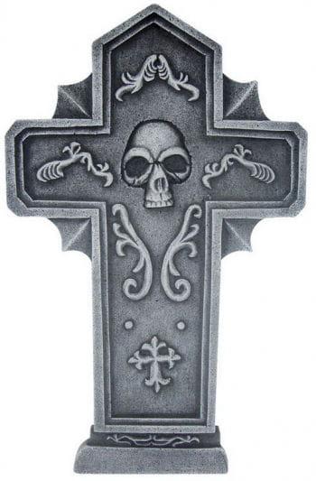 Grabsteinkreuz Skull