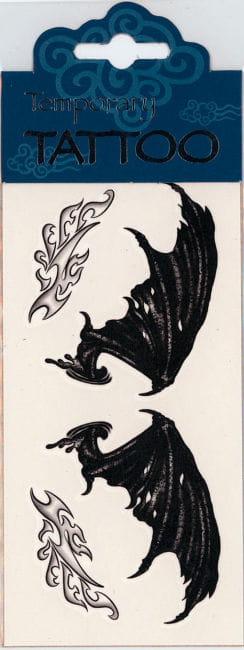 Flügel Tattoo Demon Wings