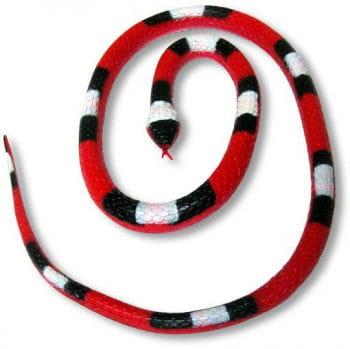 Gummi Schlange rot 90 cm