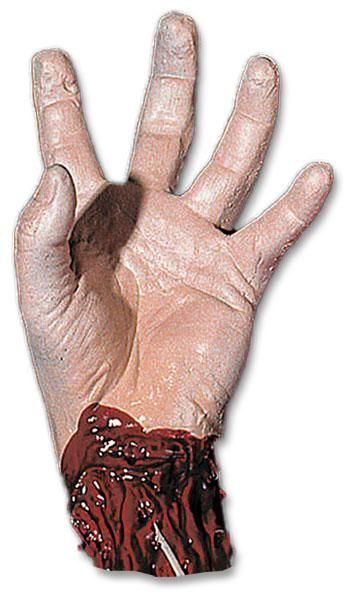 Bloody Severed Left Hand