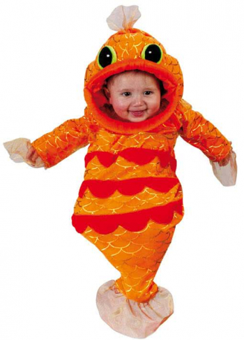 Goldfisch Babykostüm