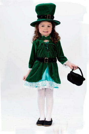 Girl Leprechaun Toddler Costume L 3 to 4 Years
