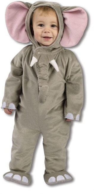 Plush elephant costume 12 to 24 Mon