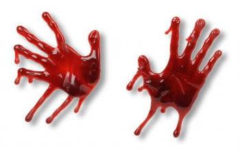 bloody handprint 3D
