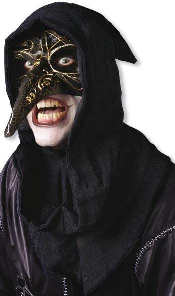 Venezianische Maske schwarz