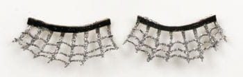 Spiderweb Lashes silver / black
