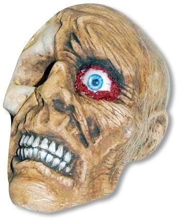Verrottender Zombieschädel Boris