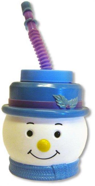 Kinderpunsch mug snowman blue