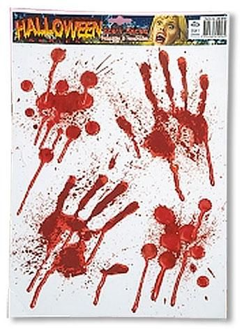 Bloody Handprints Decals
