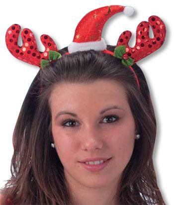 Red Christmas Headband