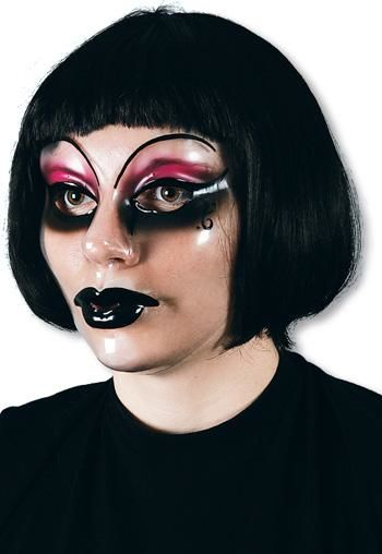 Hexe Esmeralda Maske