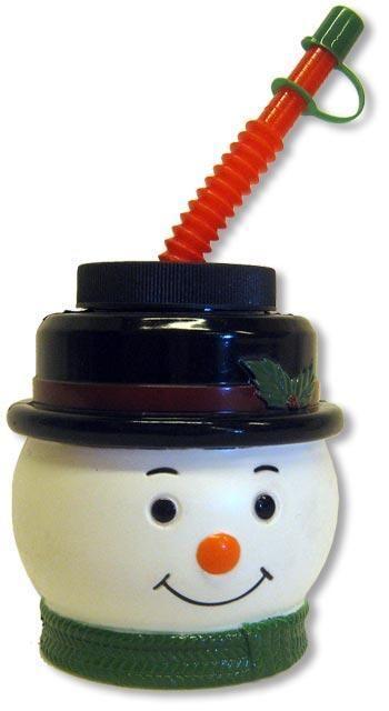Kinderpunsch Mug Snowman black