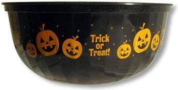 Black Halloween Bowl
