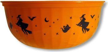 Orange Halloween Schüssel