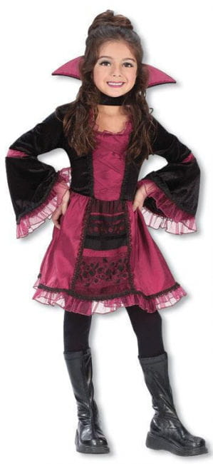 Vampire Girl Child Costume. M