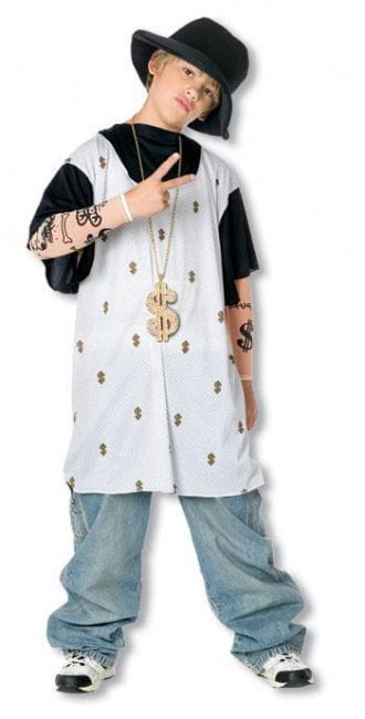 Rapper Child Costume M