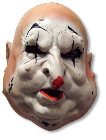 Hohle Birne Clown Maske