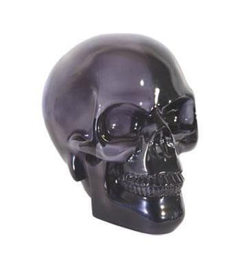 Totenschädel Crystal schwarz