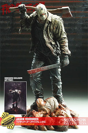 Jason Terror of Crystal Lake Polystone Statue