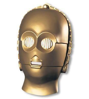 C-3PO Halbmaske