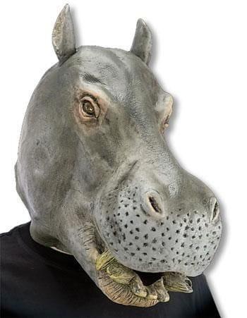 Nilpferd Maske