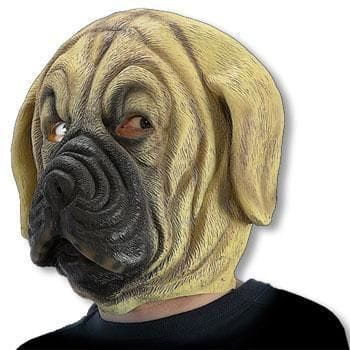 Dog latex mask