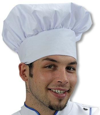 Chef`s Hat white
