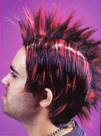 Red Mohican